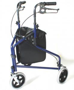 Steel Triwheel Walker