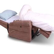 Pride Chairbed - rise and recline chair that goes flat for sleeping