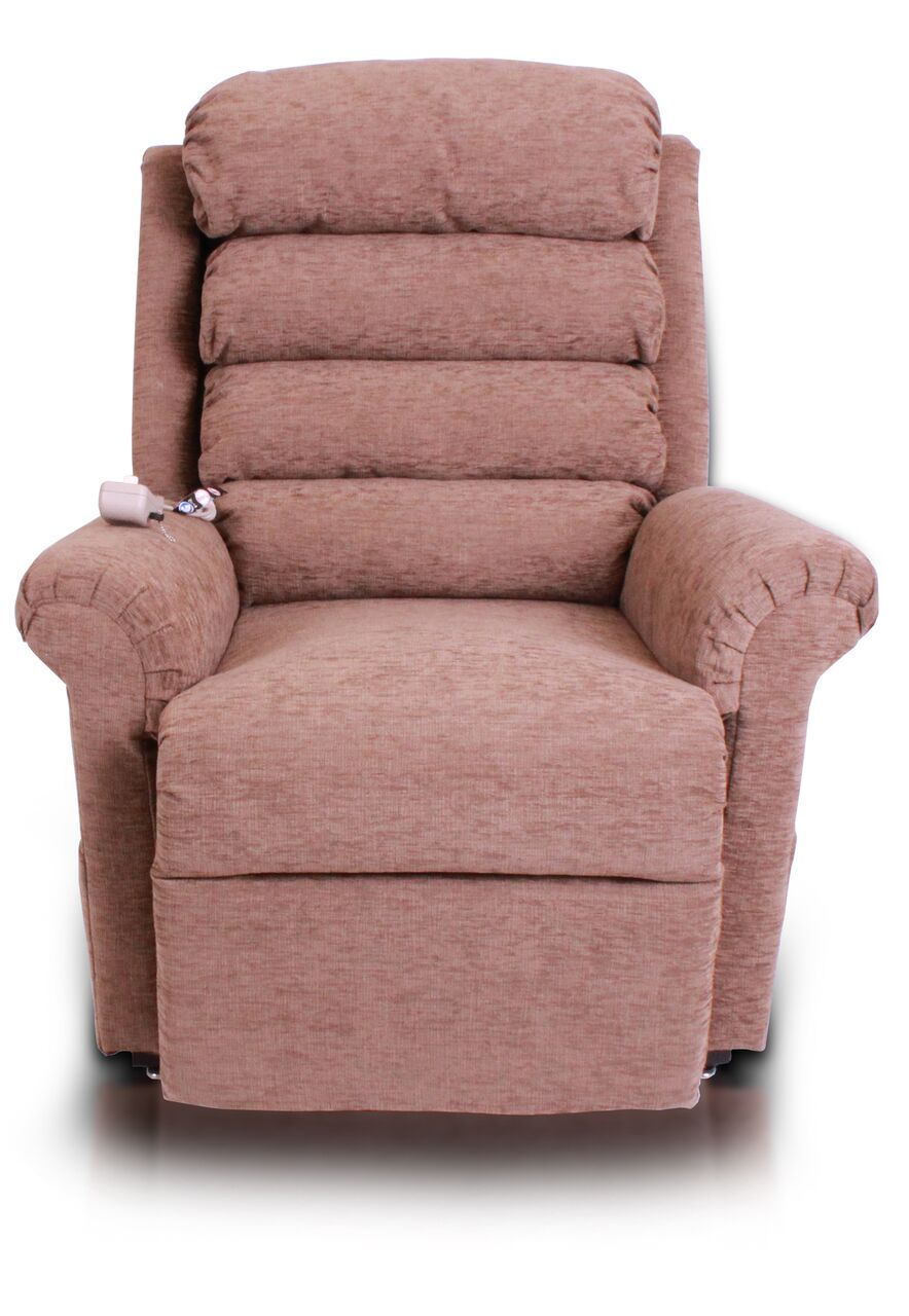 Pride 670 Chairbed Rise And Recline Chair Converts Into A Bed
